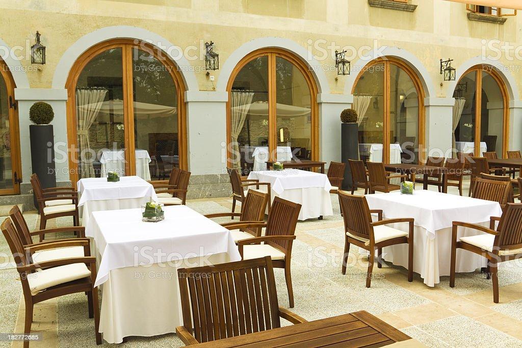 castle restaurant royalty-free stock photo