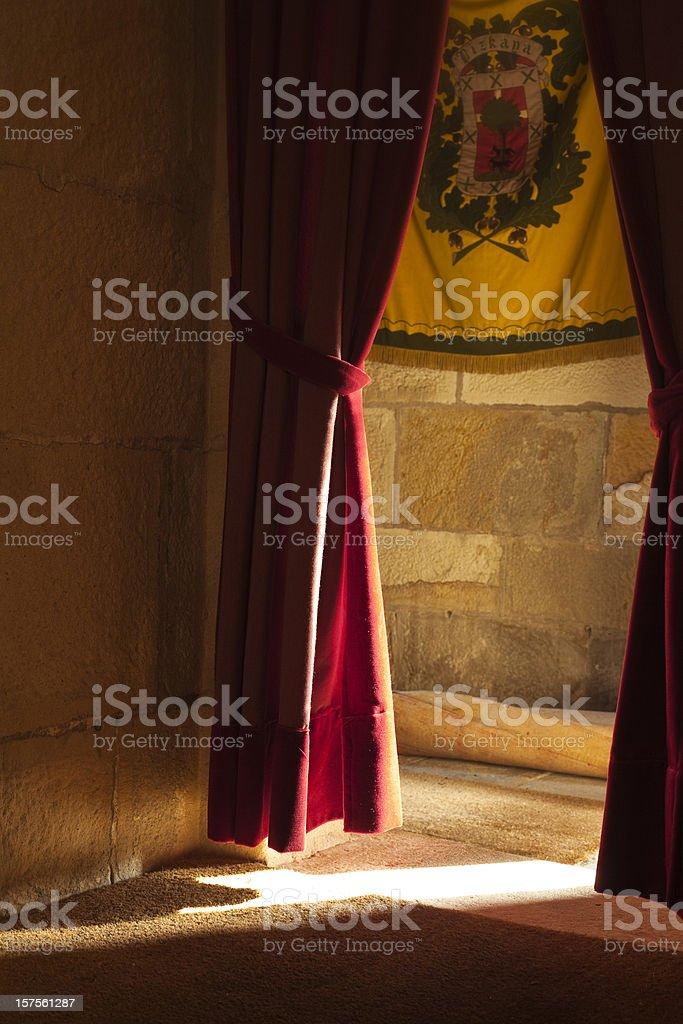castle room stock photo