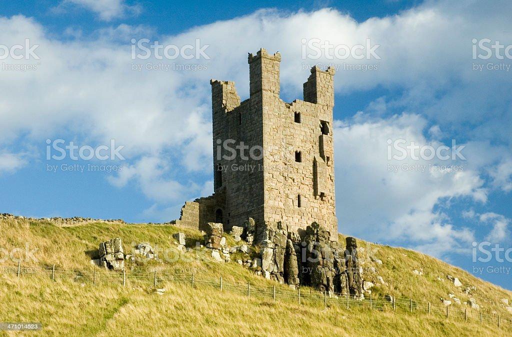 Castle ruin stock photo
