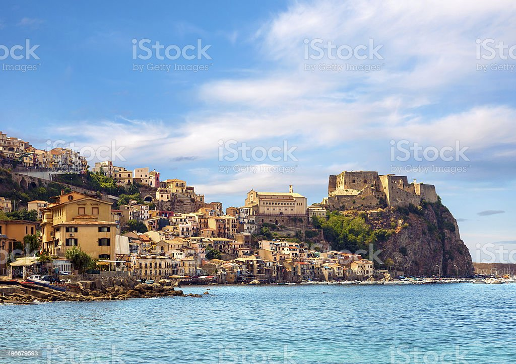 Castle Scilla stock photo