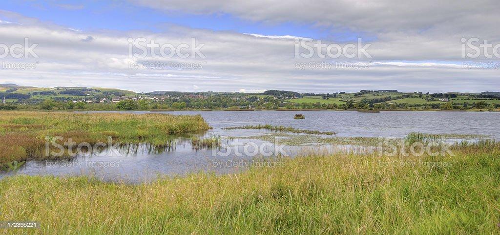 Castle Semple Loch royalty-free stock photo