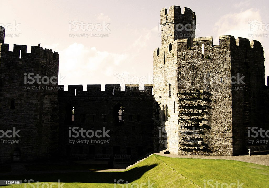 Castle Shapes stock photo