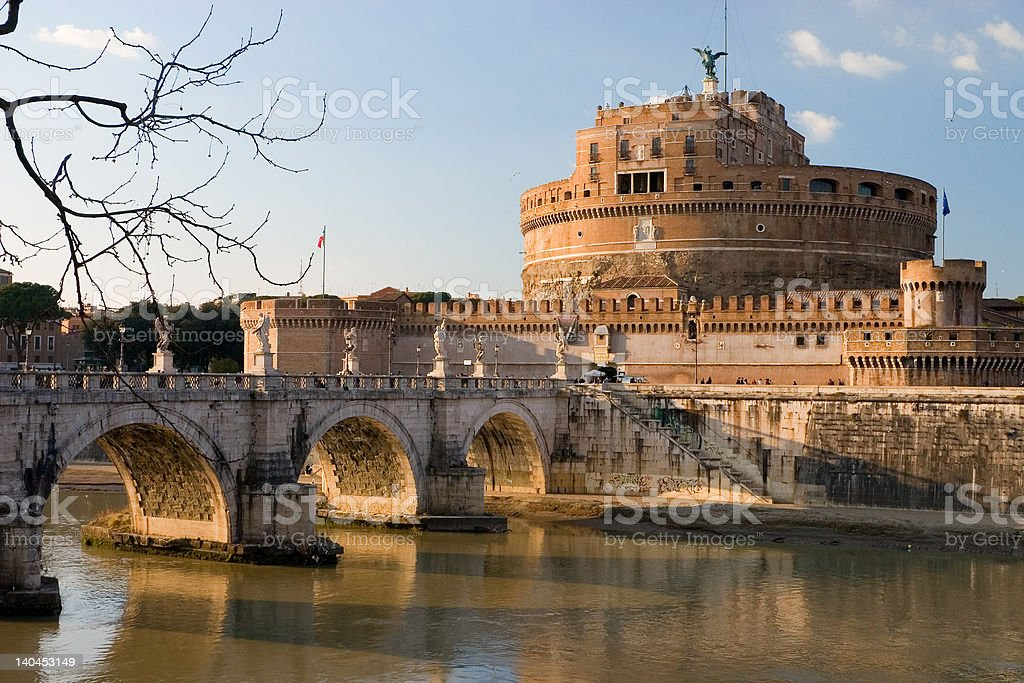 Castle St. Angelo royalty-free stock photo