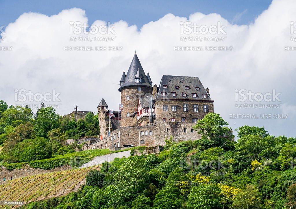 Castle Stahleck stock photo