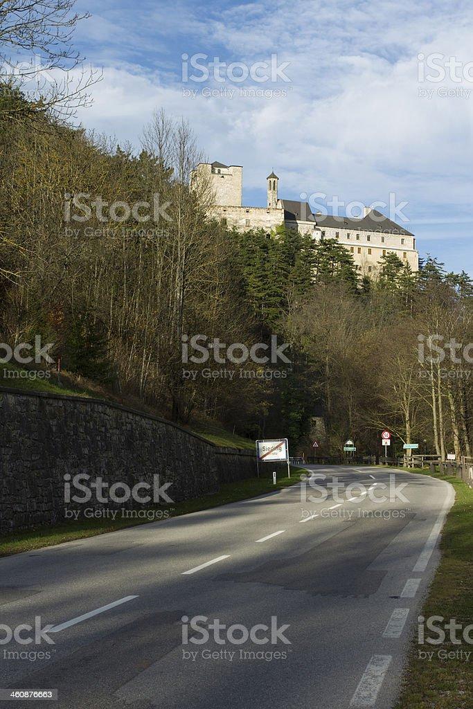 Castle Stixenstein royalty-free stock photo