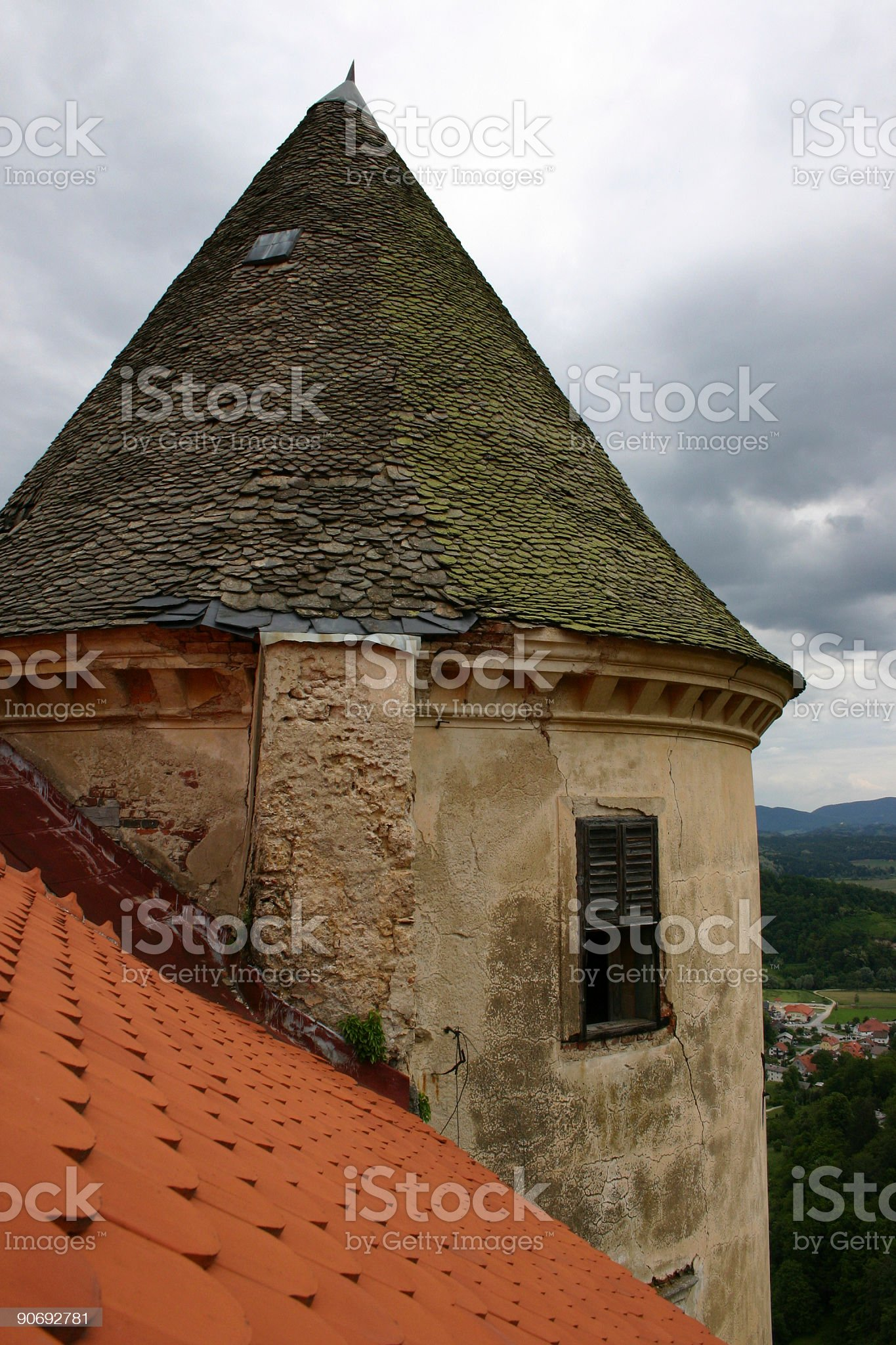 castle tower 1 royalty-free stock photo
