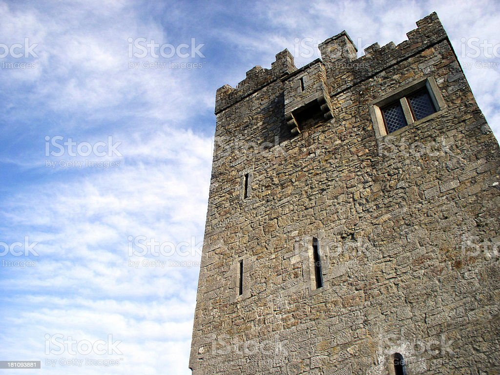 castle tower royalty-free stock photo