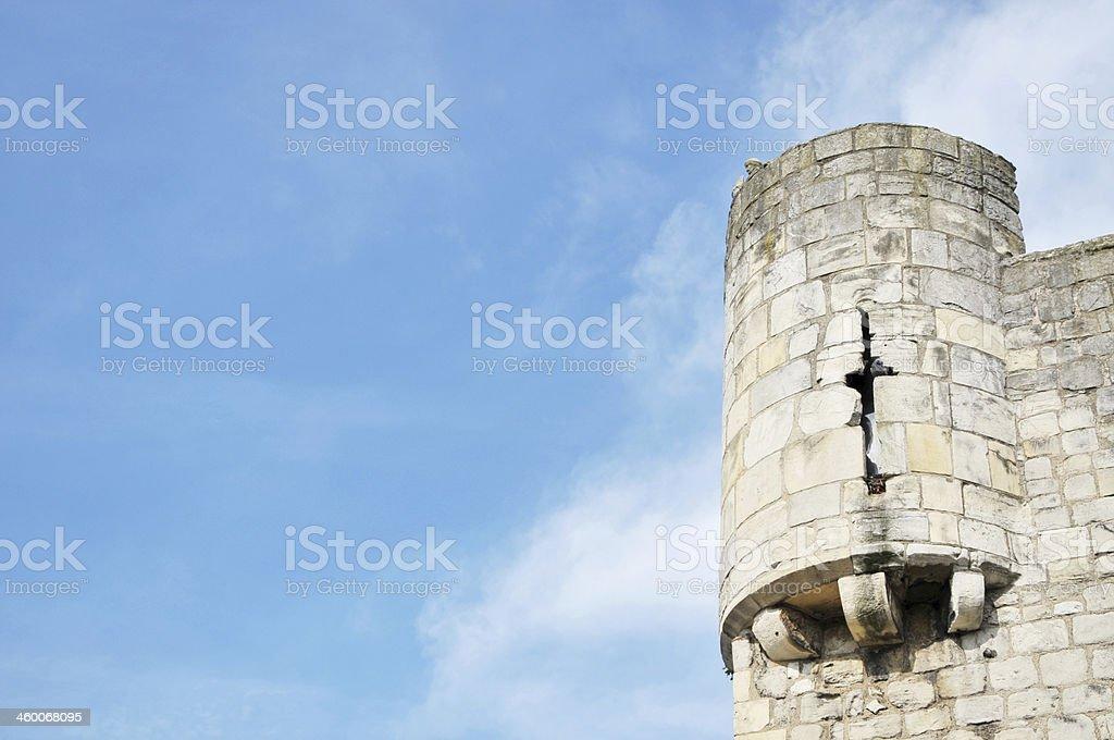 Castle Turret stock photo