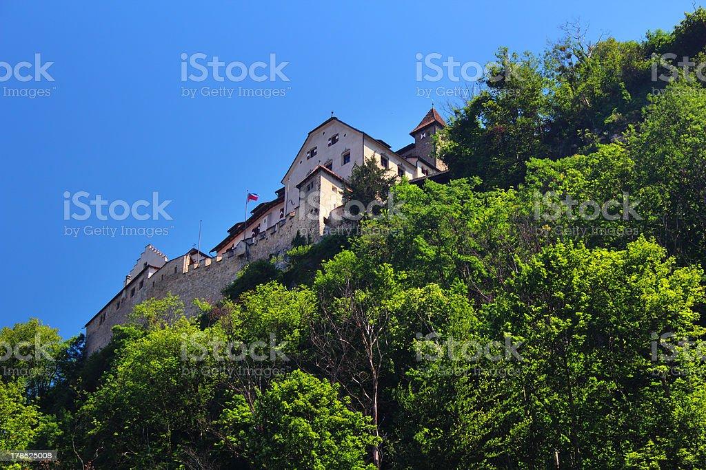 Castle Vaduz - Principality of Liechtenstein royalty-free stock photo