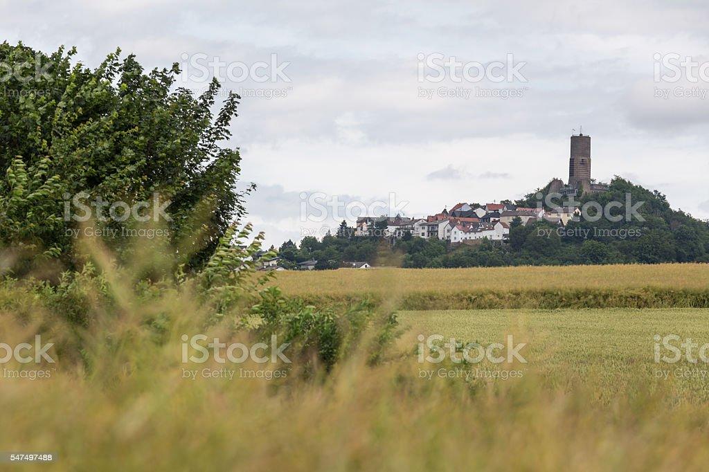 castle vetzberg hessen germany stock photo
