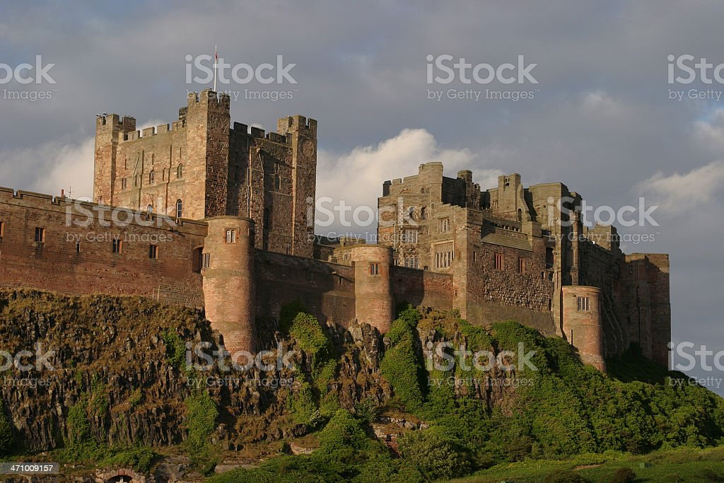 Castle Walls royalty-free stock photo