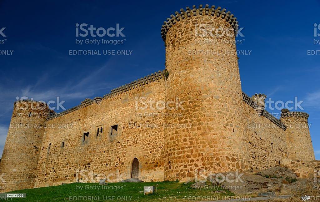 Castillo de paredes - foto de stock