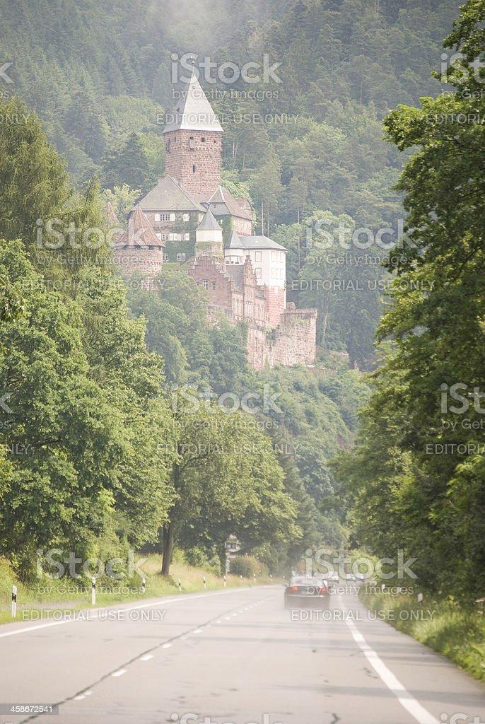 Castle Zwingenberg royalty-free stock photo