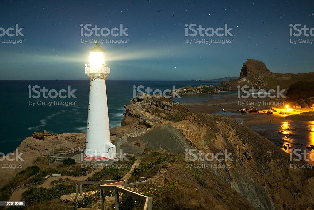 Castlepoint Lighthouse royalty-free stock photo