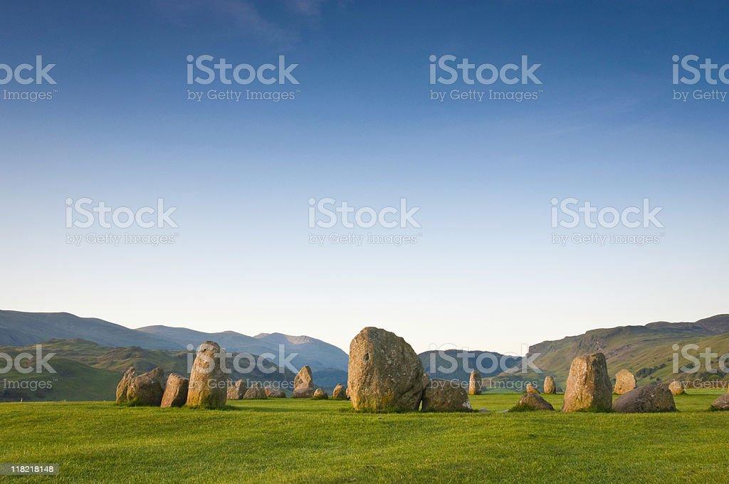 Castlerigg, Lake District stock photo