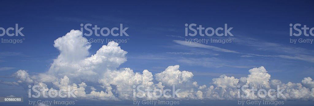 Castleses in the air. stock photo