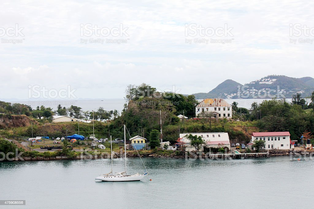 Castries, St. Lucia stock photo