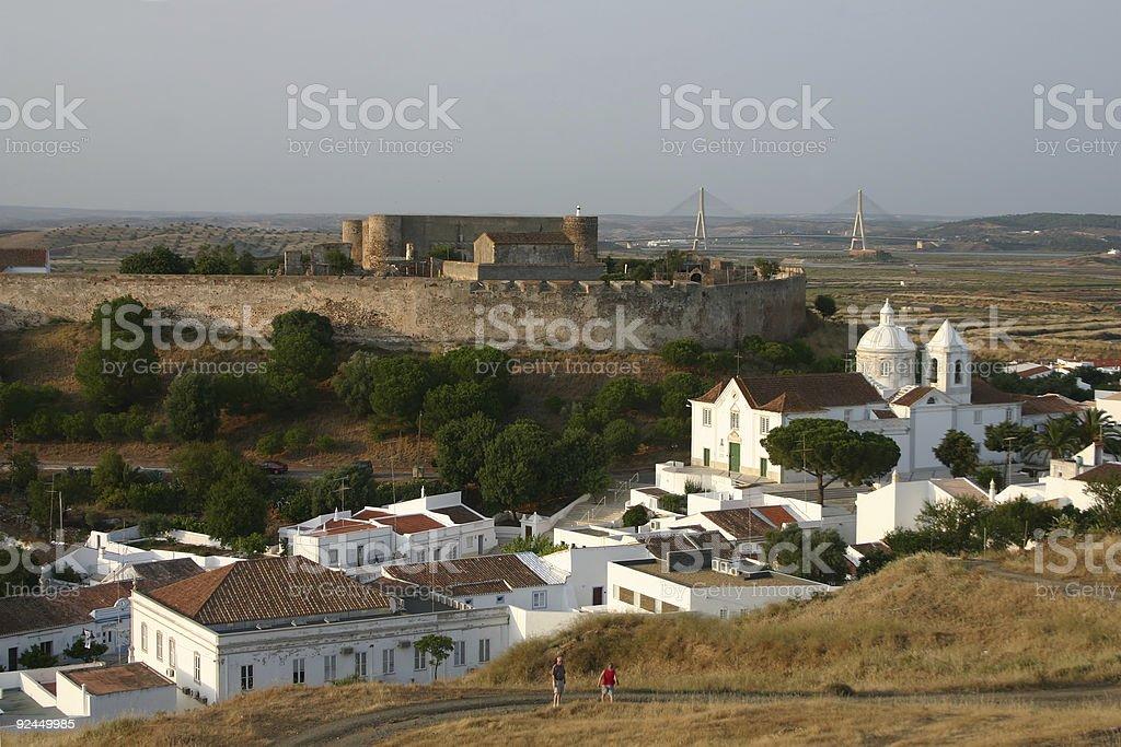 Castro Marim (Portugal) stock photo