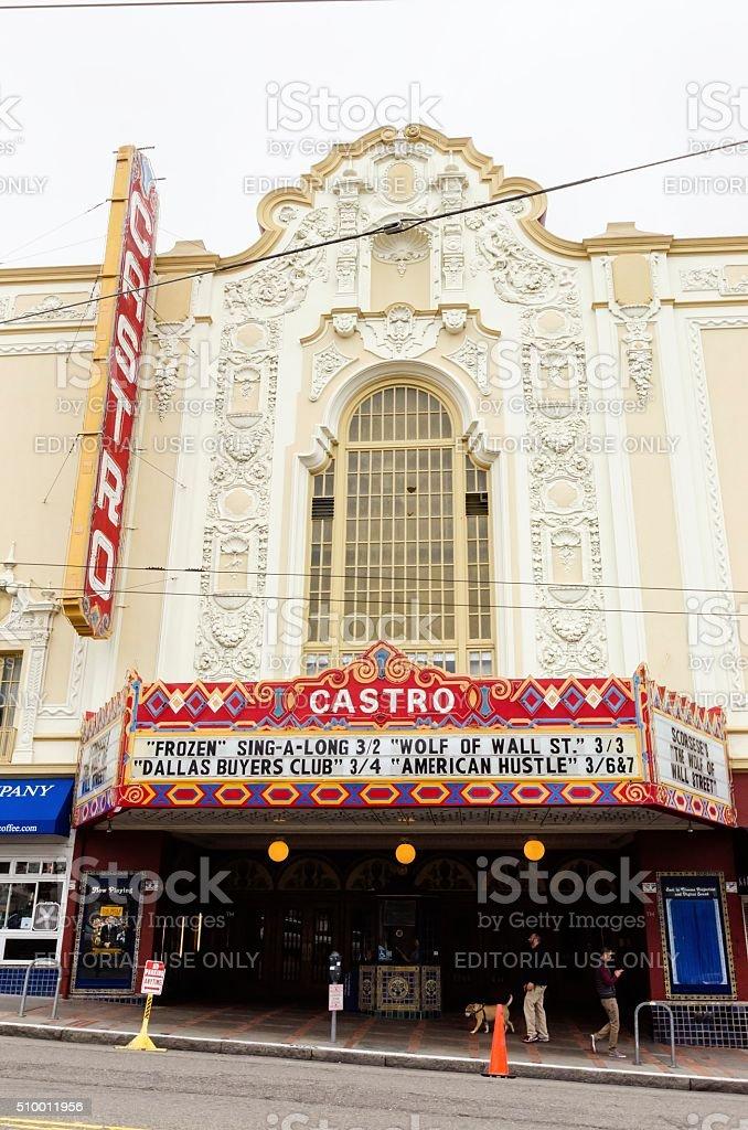 Castro Theater, San Francisco, California stock photo
