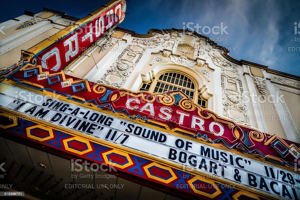 Castro Theatre, Castro District, San Francisco stock photo