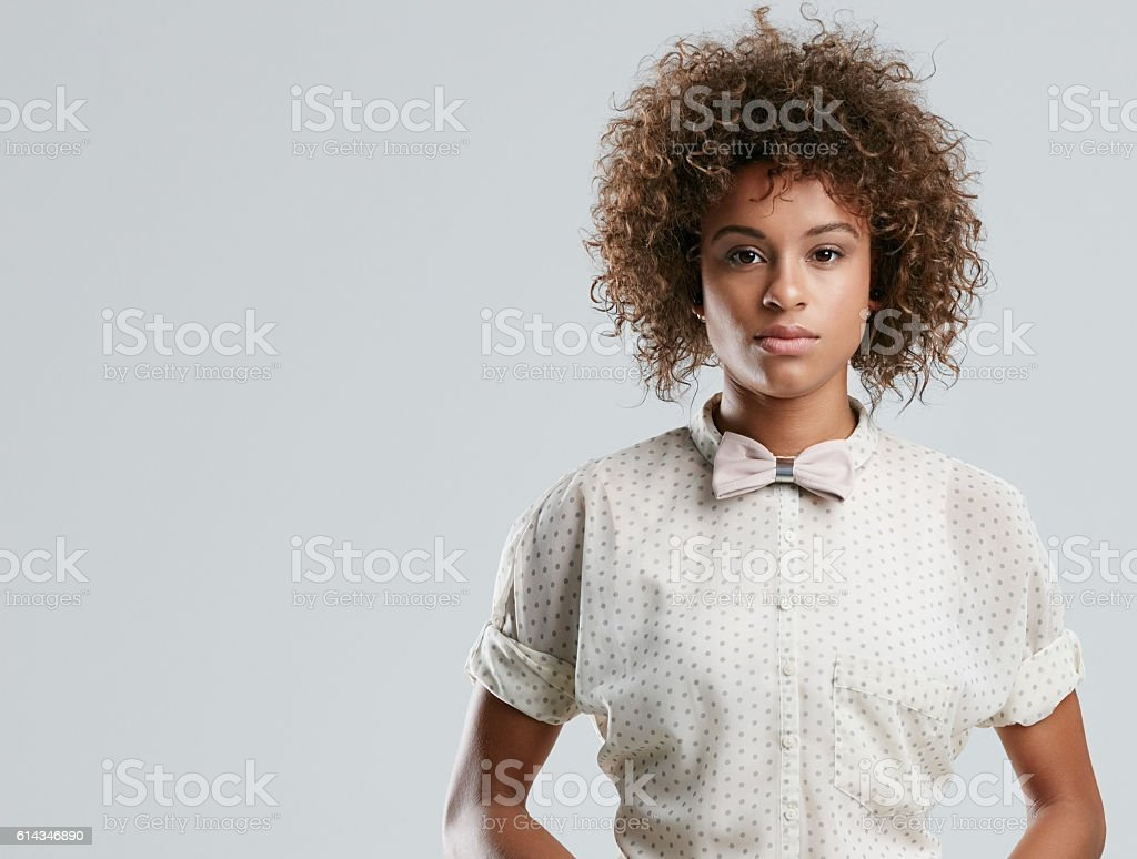 Casual and confident stock photo