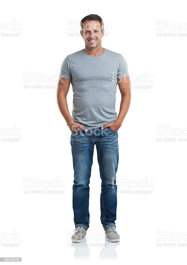 Casual and relaxed stock photo