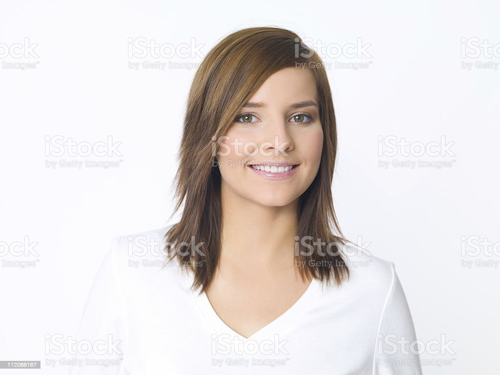 Casual Beauty stock photo