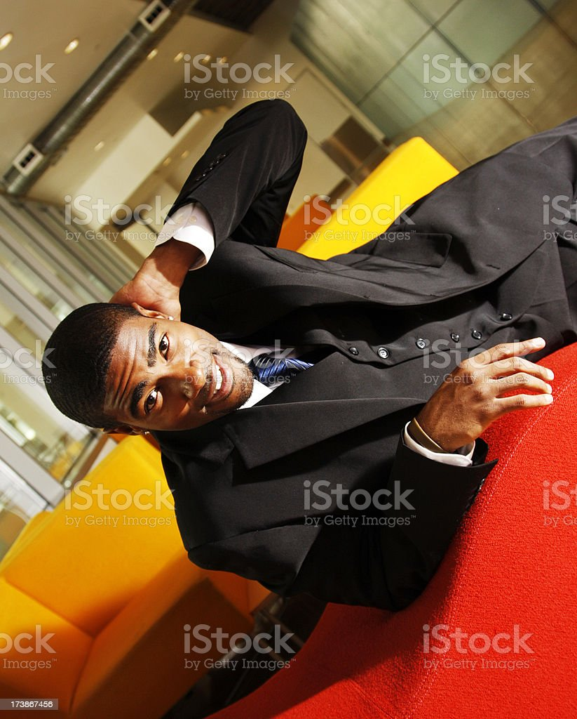 Casual Black Man royalty-free stock photo