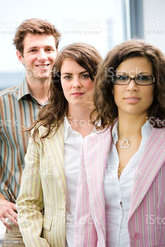 Casual business team royalty-free stock photo