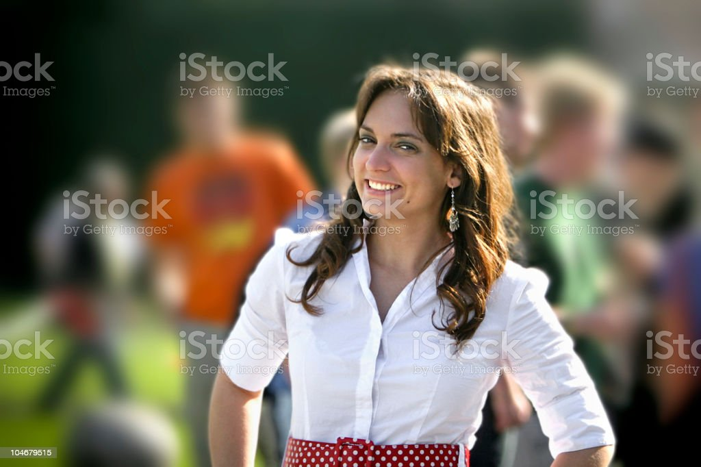 Casual Business Woman royalty-free stock photo