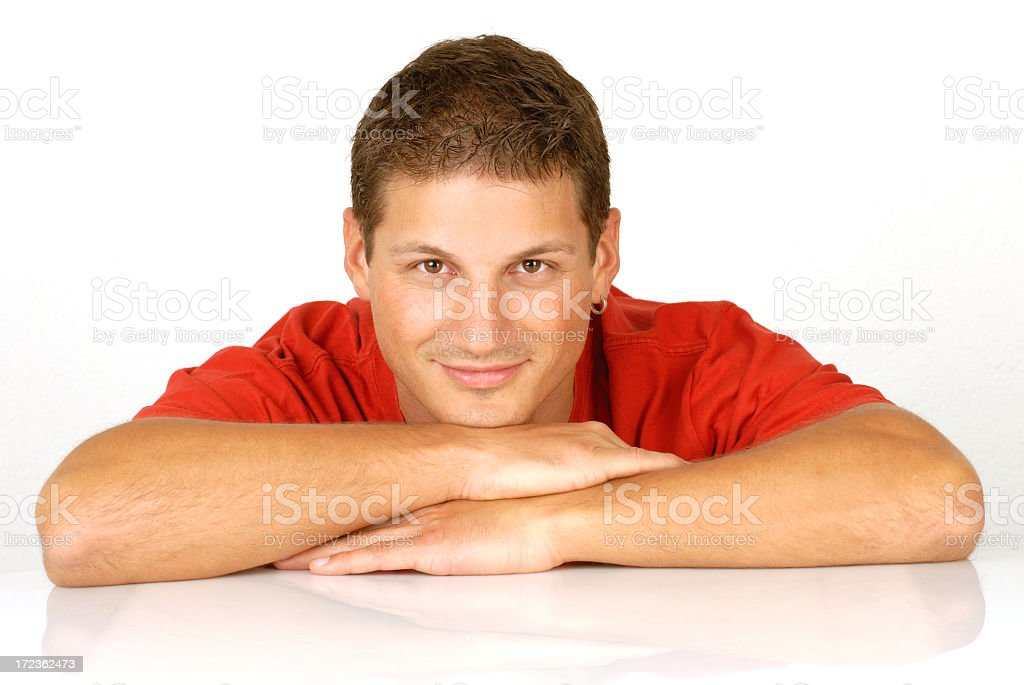 Casual businessman royalty-free stock photo