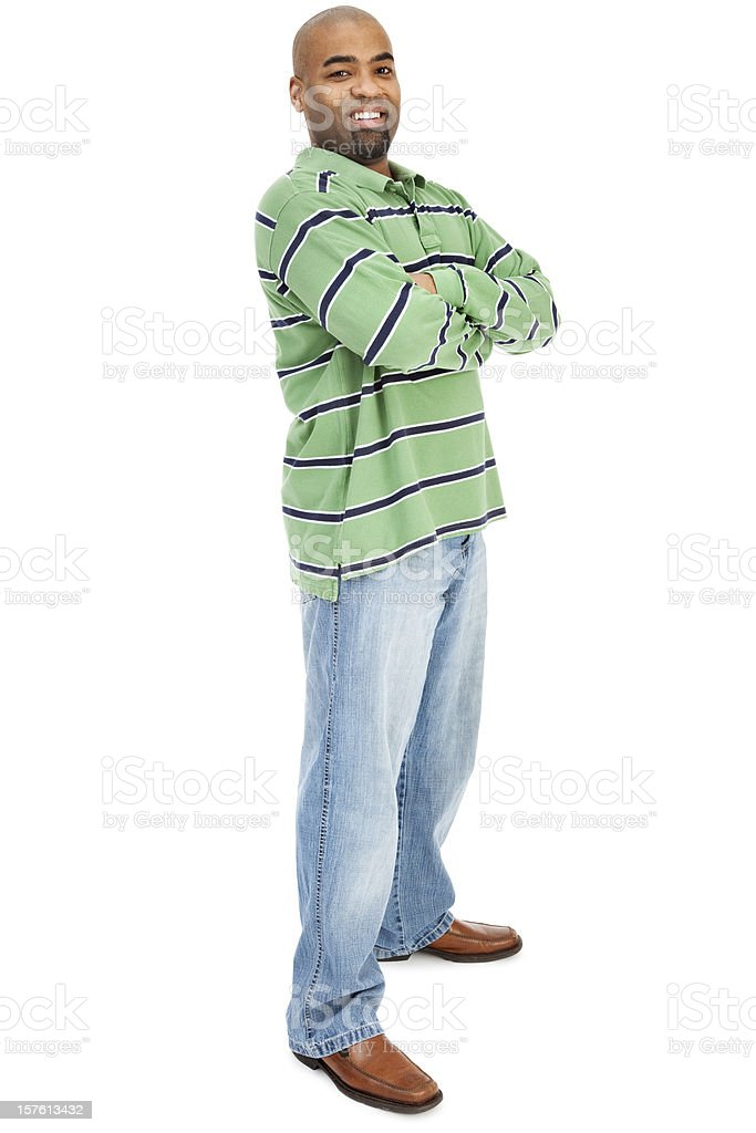 Casual Confident Man royalty-free stock photo