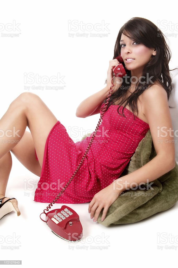 Casual Conversation royalty-free stock photo