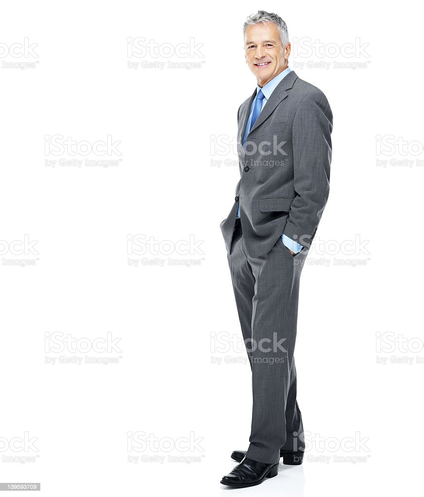 Casual corporate confidence stock photo
