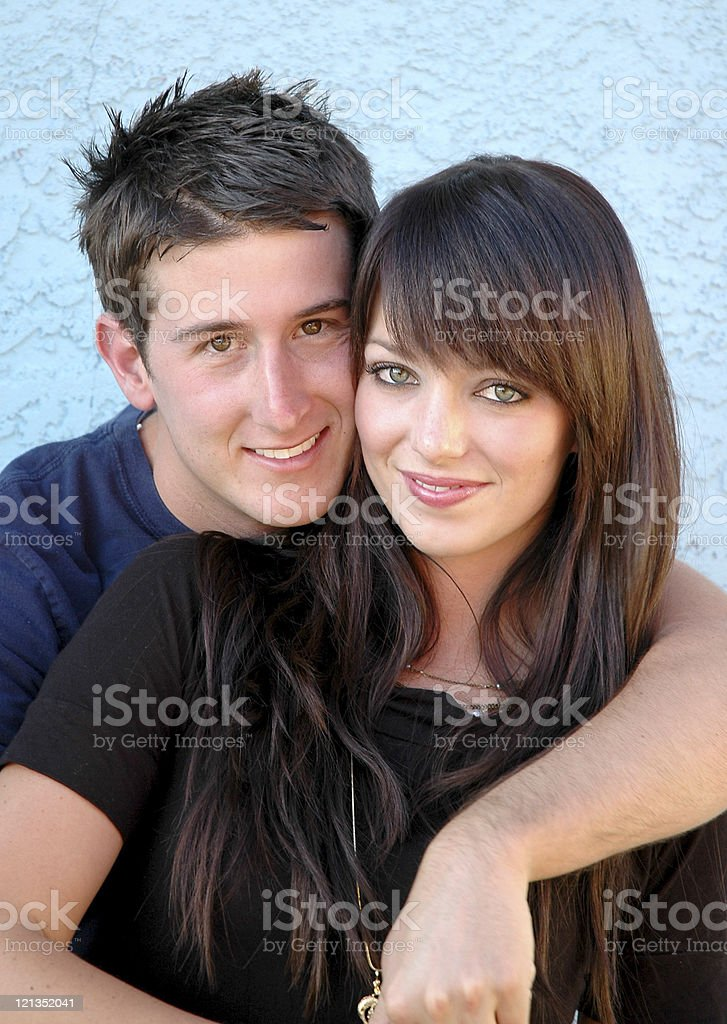 Casual Couple Series royalty-free stock photo