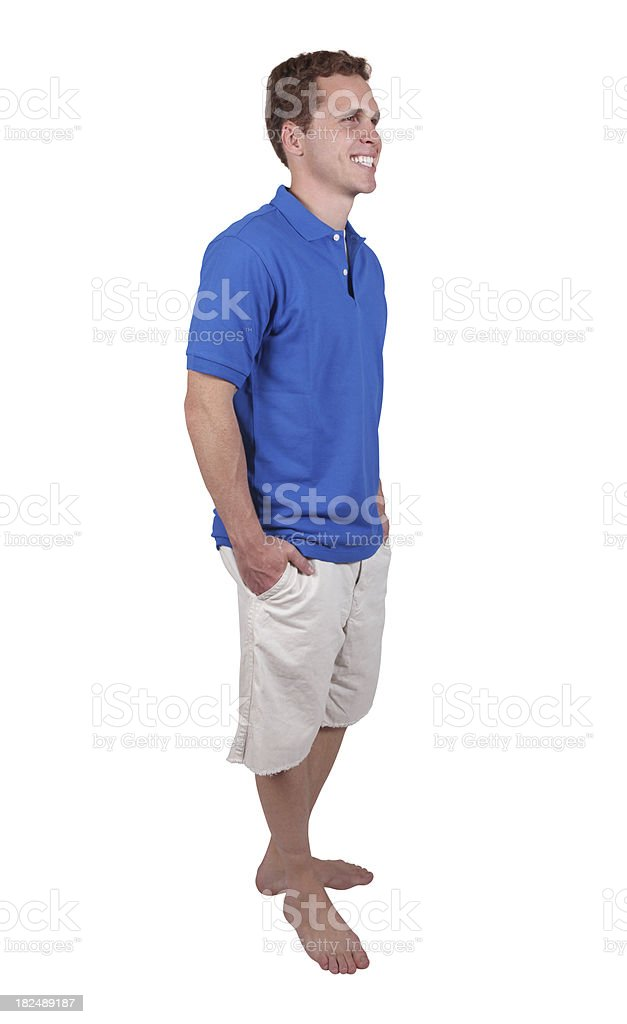 Casual dude royalty-free stock photo