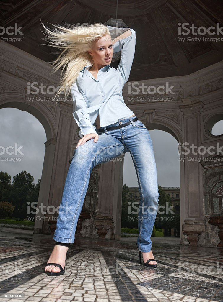 Casual Fashion royalty-free stock photo