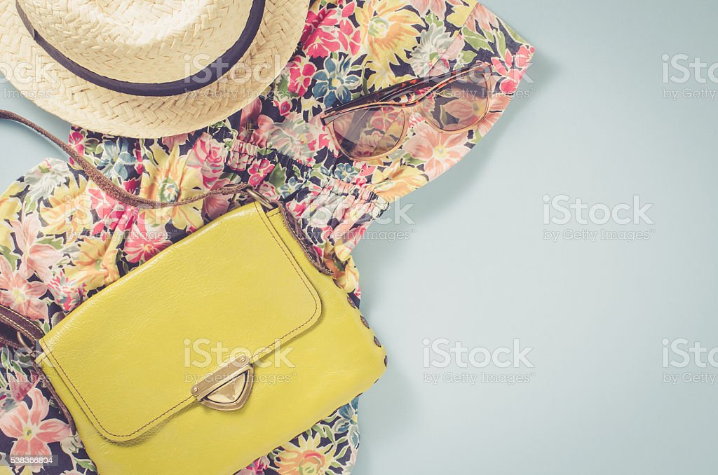 Casual female clothes stock photo
