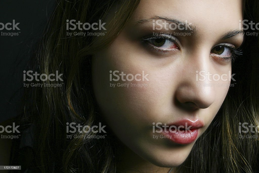 Casual female stock photo