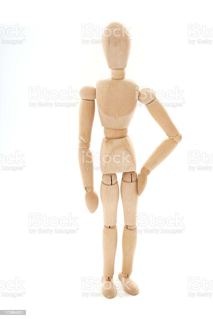 Casual Figure stock photo