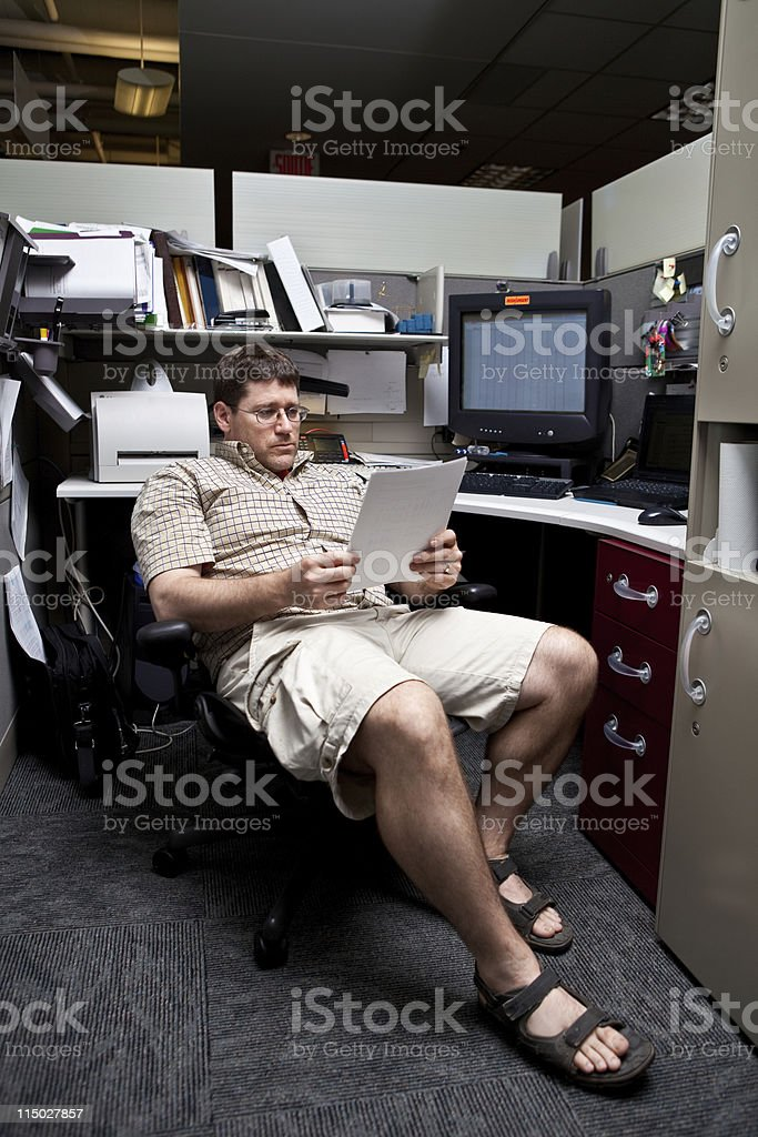 Casual Friday stock photo