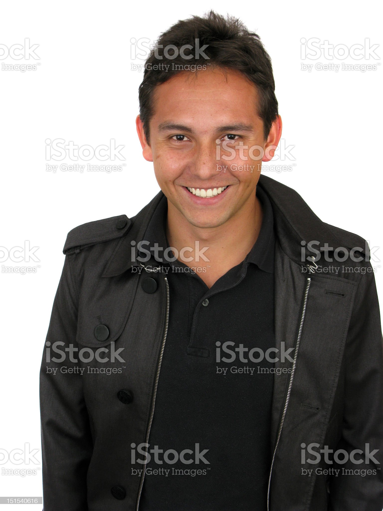 Casual Friendly Man royalty-free stock photo