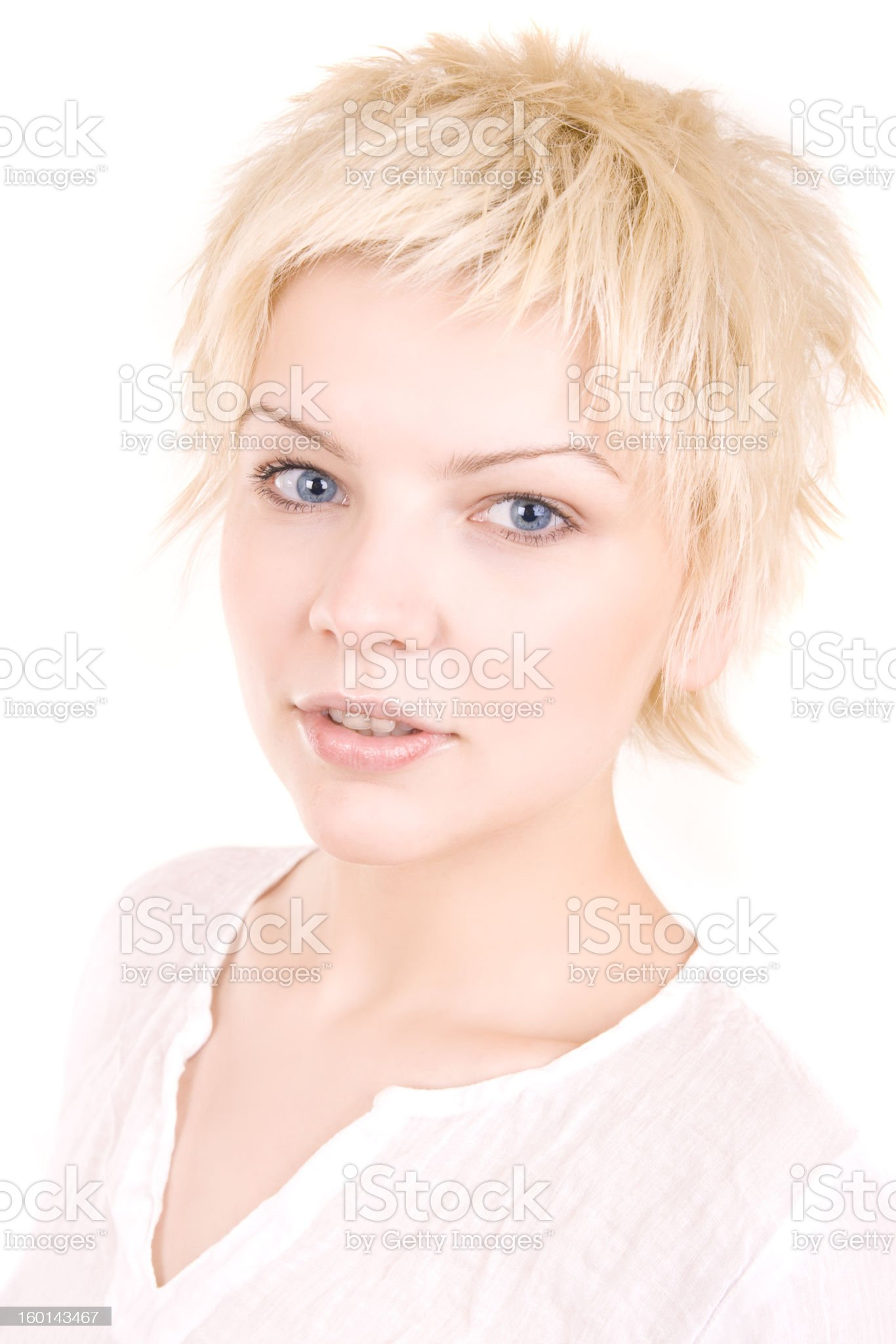 casual girl royalty-free stock photo