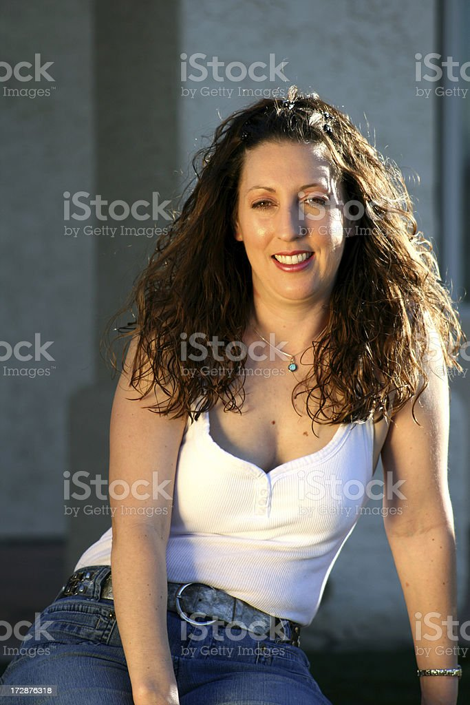 Casual Glamour stock photo