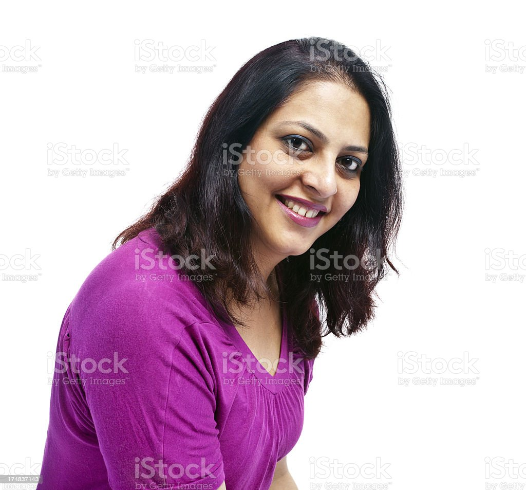 Casual happy Indian Woman royalty-free stock photo