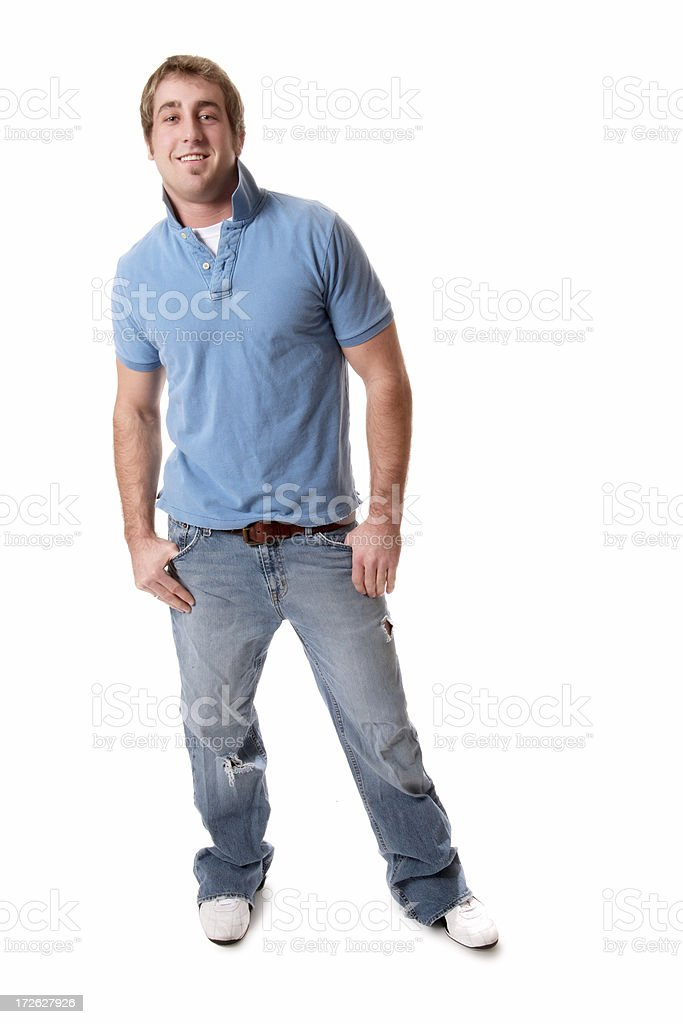 Casual Male royalty-free stock photo