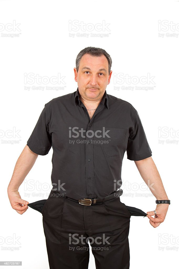 Casual man in black doing different poses royalty-free stock photo