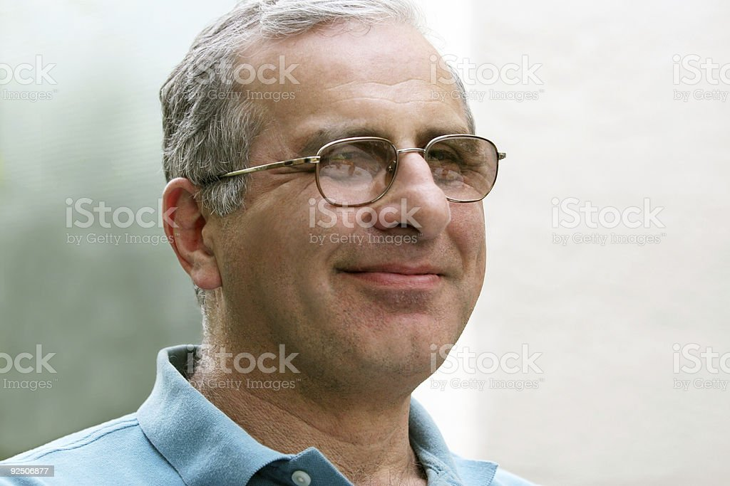 Casual mature man royalty-free stock photo