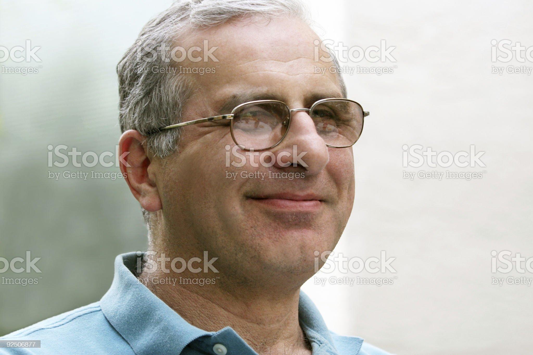 Casual mature man royalty-free stock photo