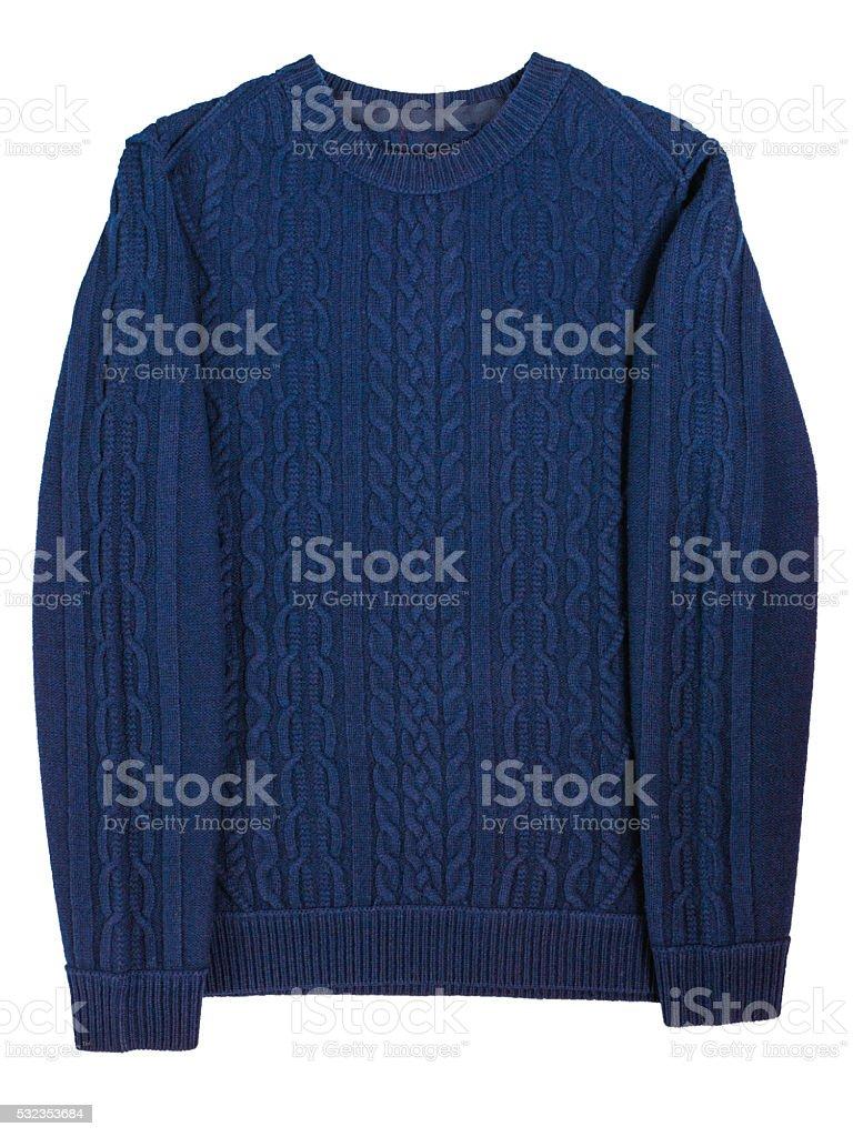 casual men's sweater stock photo